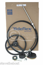 Boat Steering System 11ft Teleflex/Seastar upto 55hp, Helm, Cable and Wheel