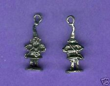 100 wholesale lead free pewter gnome charms 1046
