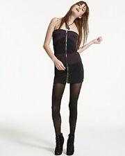 Bloomingdales Aqua  Brand  NWT  Color Block Zip Front  Strapless Dress  S