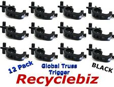 Global Truss Trigger Clamp 12 PACK Black Finish Clamps Ship SAME DAY FREE SHIP!