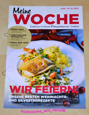Weight Watchers Meine Woche 8.12 - 14.12 ProPoints Plan 360 Wochenbroschüre 2013