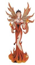 "10.5"" Inch Fire Fairy Statue Figurine Figure Fairies Magic Fantasy Mythical"