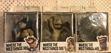 LOT of 3 McFarlane Toys MOISHE BERNARD AARON~ Where the Wild Things Are UNOPENED