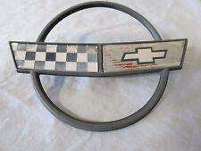 84-96 Chevy Corvette c4 Front Nose Hood EMBLEM Logo Applique Sign OEM # 10153649