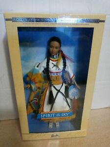 Spirit of the Sky Barbie Doll Native American. Limited edition