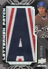08-09 UD Black LETTERMEN PATCH xx/399 Made! Matt D'AGOSTINI #68 - Canadiens RC