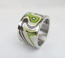 Design Ring Edelstahl Lack
