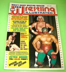 Pro Wrestling Illustrated Magazine September 1979 # 1 REPLICA EDITION