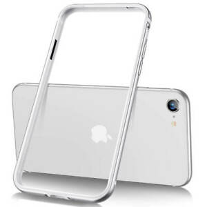 ESR Crown Edge Guard Bumper Case for Apple iPhone SE (2020) iPhone 7 8 Silver