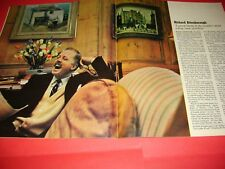 Richard Attenborough Winston Churchill 1966 UK Observer Magazine