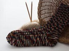 dicke Socken, handgestrickt, Wolle, Gr. 42/43