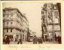 Allemagne, Bresterstraße à Mannheim Vintage citrate print. Vintage Germany  Ti