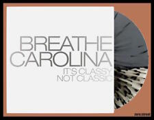 BREATHE CAROLINA It's Classy Not Classic LP on CLEAR/GRAY VINYL New SEALED /300