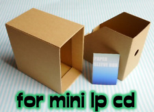 PAPER SLEEVE BOX / CARDBOARD STORAGE BOX for MINI LP CD