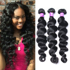 150g/3bundles Brazilian Virgin Hair 7A Human Hair Loose Deep Wave Hair Extension