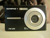 Olympus FE FE-20 8.0MP Digital Camera - Black