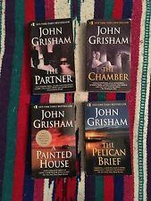 JOHN GRISHAM ~ Lot of 4 ~ Paperbacks