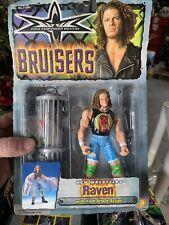 WCW Bruisers RAVEN Wrestling Figure Toy Biz WWF WWE ECW