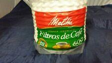 Melitta Super Premium Basket-style Coffee Filter (631132) 600 filters! FREE SHIP