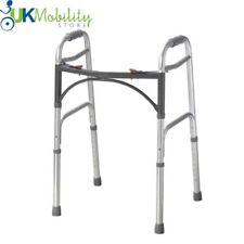 Drive Medical Adjustable Folding Walking Frame Zimmer - WA008