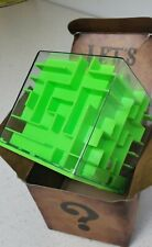 Money Maze Puzzle Box Holder Saving Cube Fun Cash Kids & Adult  Safe