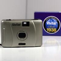 Brand New Vintage Vivitar Ultra Compact 35mm Film Camera w/ 28mm Inbuilt Lens