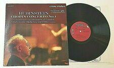 RUBINSTEIN LP RCA LSC-2575 WD CHOPIN CONCERTO NO 1 NSO SKROWSCZSEWSKI NM