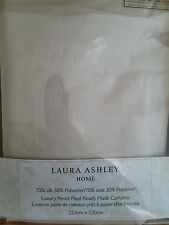 Laura Ashley Solid Pattern Curtains & Pelmets