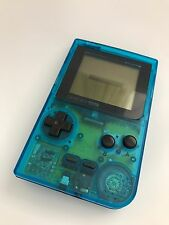 PERFECT CONDITION ** SCRATCH FREE ** ARTIC BLUE GAMEBOY POCKET MGB-001 CONSOLE