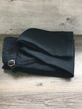 NEXT Slim With Side Buckles Black Jeans Size W32 L31