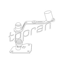Umlenkwelle Schaltung - Topran 111 322