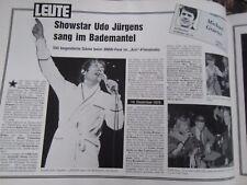 Leute Jahresband 1980/81 AZ München Michael Graeter Kolumne Abendzeitung Bd. 7
