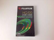 Vintage Fuji Film HQ 120 6 Hour Multi-Purpose Sealed VHS Video Tape