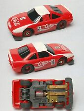 1992 TYCO TCR Wide Pan COCA-COLA #4 Chevy Lumina Slot Less Car Unused Nice Car!