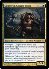 GRIMGRIN, CORPSE-BORN Innistrad MTG Gold Creature—Zombie Warrior MYTHIC RARE