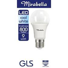 Mirabella LED Globe GLS Edison Screw 9 watt Cool White 1 each