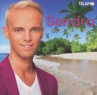 SANDRO - VERLIEBT  (2017) CD NEW
