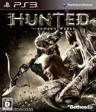 Used PS3   Hunted The Demon's Forge SONY PLAYSTATION 3 JAPAN JAPANESE IMPORT