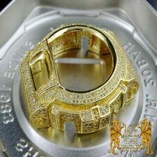New Casio G Shock 6900 Series Yellow Gold Finish Simulated Diamond Case Bezel