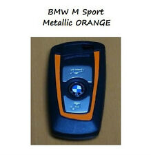 Metallizzato Arancione BMW chiave Vinile Decalcomania Adesivo F30 F35 F20 F10 F18 F07 1 3 5 Serie
