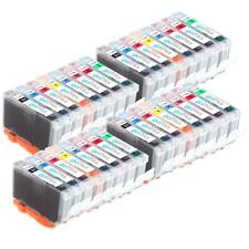 4 Compatible Set of 8 CLI-8 Canon Ink Cartridges for Pro 9000 & Pro 9000 Mark II
