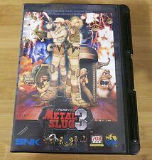Metal Slug 3 for Neo Geo AES (JPN Japanese) Near Mint Condition 2nd Run