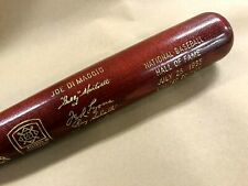 1955 Hall of Fame Induction Bat Joe DiMaggio Ltd Ed 178/500 Cooperstown Baseball
