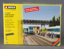 NOCH 67071 [H0 Bausatz, Lasercut] Fußgängerübergang variabel, Ergänzungsbausatz