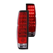 For Nissan D21 1986-1994 Anzo 311034 Chrome/Red LED Tail Lights