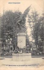 CPA 75 PARIS XIVe MONTPARNASSE MONUMENT DU SOUVENIR PAR DAILLION (cliché rare