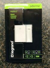 Legrand Adorne Dimmer Switch 3-Way 700W White - ADTP703H-W4