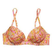 Victoria'S SECRET VS ANGEL Cabrio Bikinitop 34A warm Boho Paisley Folie 8KZ
