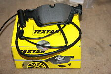 Textar Brake Pads with Warning Contact BMW 3er E46 Set for Front and Rear