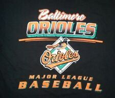 vintage BALTIMORE ORIOLES BASEBALL TEAM t shirt L cal ripken jr brooks robinson